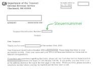 US Steuernummer Deutschland